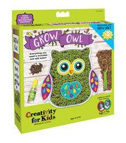 Creativity For Kids Grow an Owl Kit, , hi-res