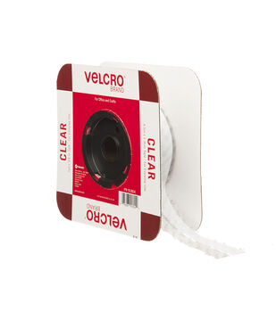 VELCRO Brand Thin Clear tape 3/4in