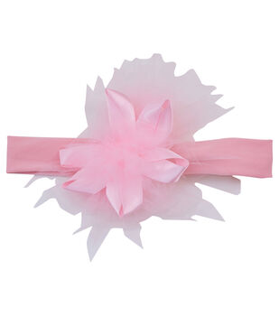 Maker's Halloween Infant Mini Headband-Pink