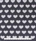 No Sew Fleece Throw 72\u0022-Home is Where the Heart is