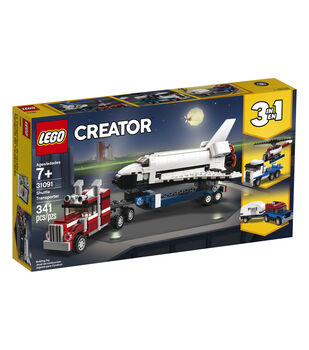 LEGO Creator 3-in-1 Shuttle Transporter Set