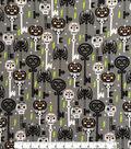 Doodles Halloween Interlock Cotton Fabric 57\u0022-Skeleton Key