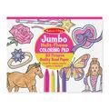 Pink -jumbo Coloring Pad