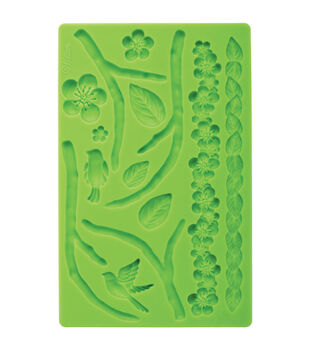 Wilton Fondant And Gum Paste Silicone Mold Nature