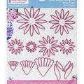 Dress My Craft Dies-Daisy Flower .98\u0027\u0027 To 3.15\u0027\u0027