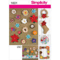 Simplicity Pattern 1601OS One Size -Crafts Crafts