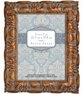 Bronze Carved Wooden Frame5x7-Brown
