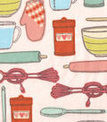 Snuggle Flannel Fabric- Kitchen Tools