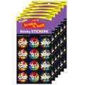 Star Praise-Chocolate Stinky Stickers 48 Per Pack, 6 Packs
