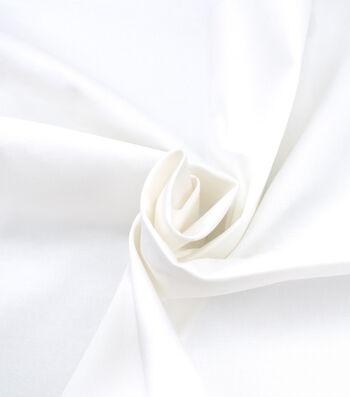 Sportswear Stretch Twill Fabric 43''-White