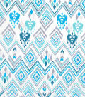 Keepsake Calico Cotton Fabric -Spa Diamond Aztec
