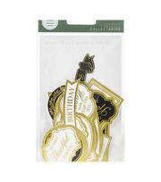 Kaisercraft Collectables Cardstock Die-Cuts-With Love, White & Gold, , hi-res