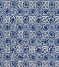 Keepsake Calico Cotton Fabric 44\u0022-Garbato Blue