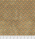 Halloween Cotton Fabric -Halloween Zigzag