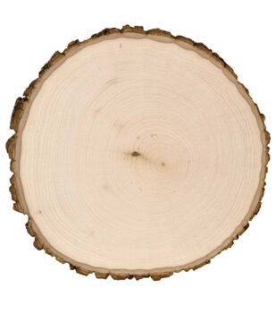 Walnut Hollow Round Unfinished Basswood Country Plaque