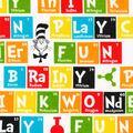 Dr. Seuss Cotton Fabric-Periodic Table