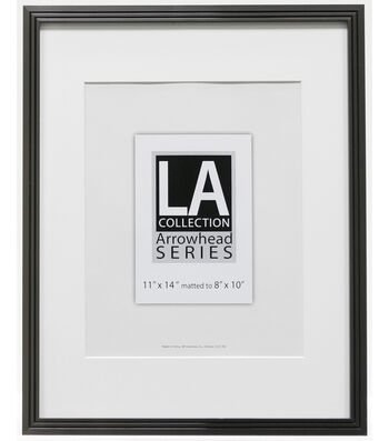 LA Collection Metal Wall Frame 11X14-Pewter