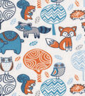 Snuggle Flannel Fabric -Folk Forest Creatures