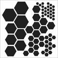 Crafter\u0027s Workshop Template Hexagons 6\u0022 x 6\u0022
