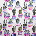 Oudoor Canvas Fabric-Watercolor Cactus