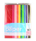 Tissue Paper Value Pack 20\u0022X26\u0022 100/Pkg-Assorted Solid Colors