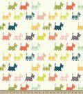 Scotties Print Fabric