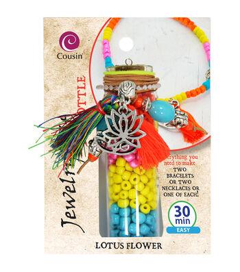 Jewelry Kit In A Bottle-Lotus Flower