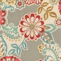 Waverly Sun N Shade Fabric 9\u0022x9\u0022 Swatch-Solar Energy Fiesta