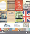 Paper House Paper Crafting Kit 12\u0022X12\u0022-England