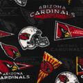 Arizona Cardinals Fleece Fabric -Retro