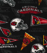 Arizona Cardinals Fleece Fabric -Retro, , hi-res