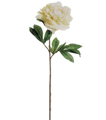 Bloom Room 31'' French Peony Stem-Cream