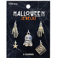 hildie & jo Halloween Tarot Reading Silver Charms-Crystal Ball