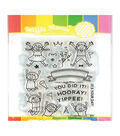 Waffle Flower Stamp & Die Set-Yippee