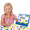 Junior Learning 84 pk Rainbow Phonics Magnetic Letters