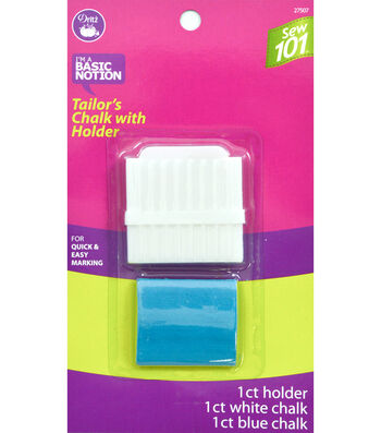 Dritz Sewing 101 Tailors Chalk With Holder