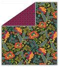 No-Sew Throw Fleece Fabric 72\u0022-Clovers Rio