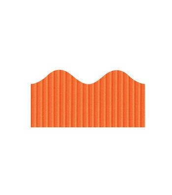 Busy Kids Learning Bordette Corrugated Border-Orange