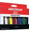 Amsterdam 20ml Standard Acrylic Paint Set 6/Pkg