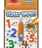 Melissa & Doug On the Go Water Wow! Travel Activity Book-Numbers, , hi-res