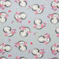Super Snuggle Flannel Fabric-Hedgehog Floral