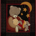 Baby Bear Wall Quilt Kit-13\u0022X15\u0022