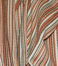 Waverly Upholstery Fabric 54\u0027\u0027-Cinnabar Rustic Stripe