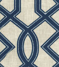 Waverly Multi-Purpose Decor Fabric 54\u0027\u0027-Marina Cutout Embroidery