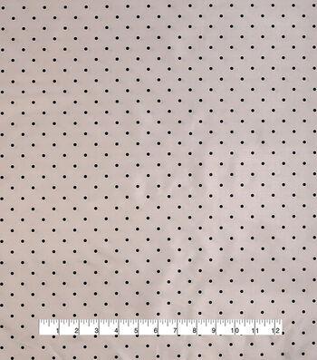 Anti-Static Lining Fabric -Black Dots