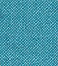 Modern Cotton Fabric 43\u0027\u0027-Blue Dotted Diamonds