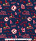 Cooperstown Saint Louis Cardinals Cotton Fabric 44\u0027\u0027