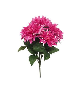 Fresh Picked Spring 20.75'' Dahlia Bush-Fuchsia
