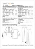Mccall Pattern V1264 A5 (6-8-10-Vogue Pattern
