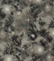 Keepsake Calico Cotton Fabric 43''-Metallic & Brown Galaxy, , hi-res